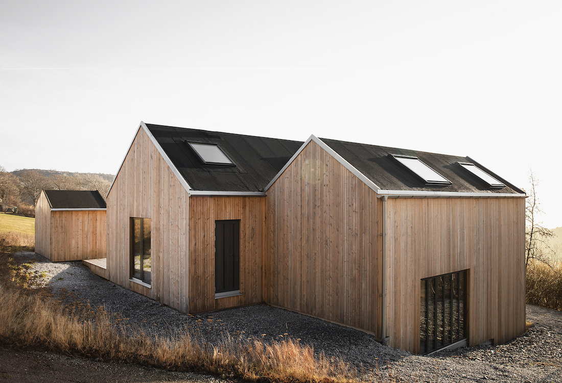 In This Swedish Cabin, Japanese and Scandinavian Minimalism Meet
