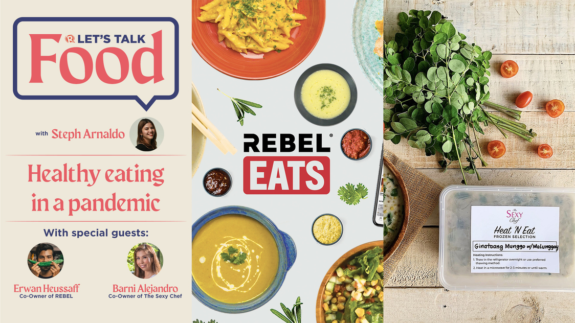 Let's Talk Food: Healthy eating in a pandemic