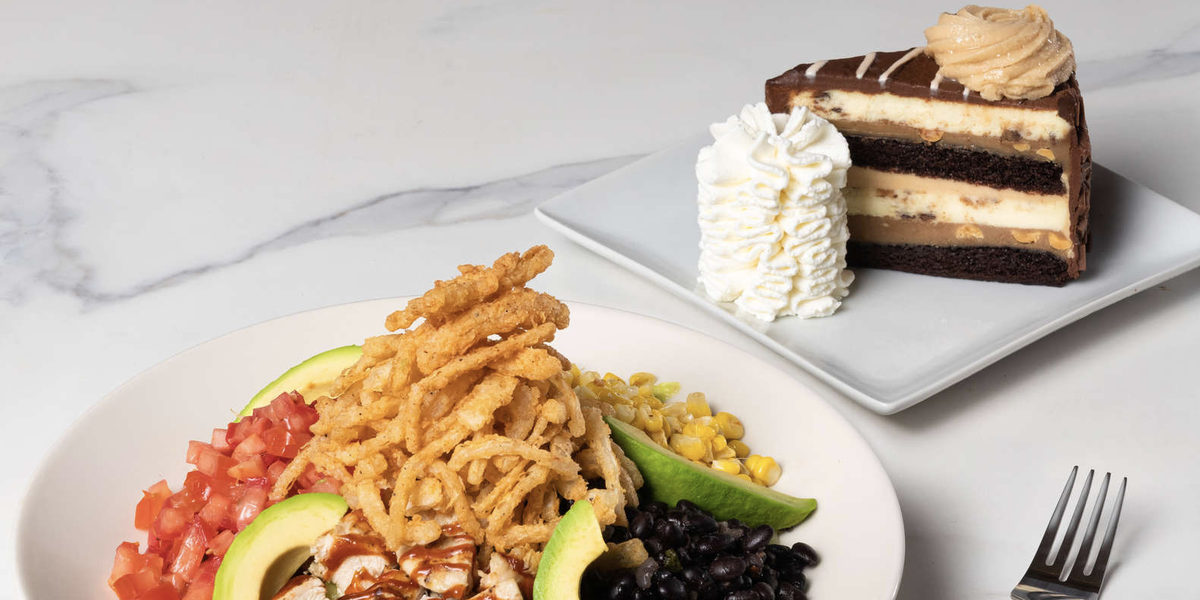 The Cheesecake Factory Is Offering A $15 Lunch Special