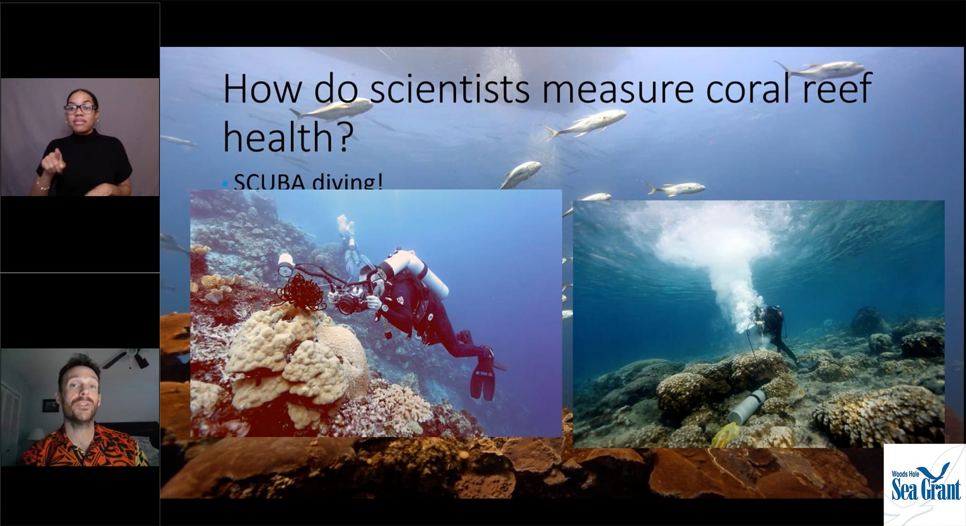 NOAA Live! Saving Corals: A Day in the Life of a Coral Reef Scientist