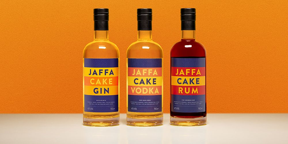 Jaffa Cake Gin, Vodka And Rum Exists And It's Great for Cocktails