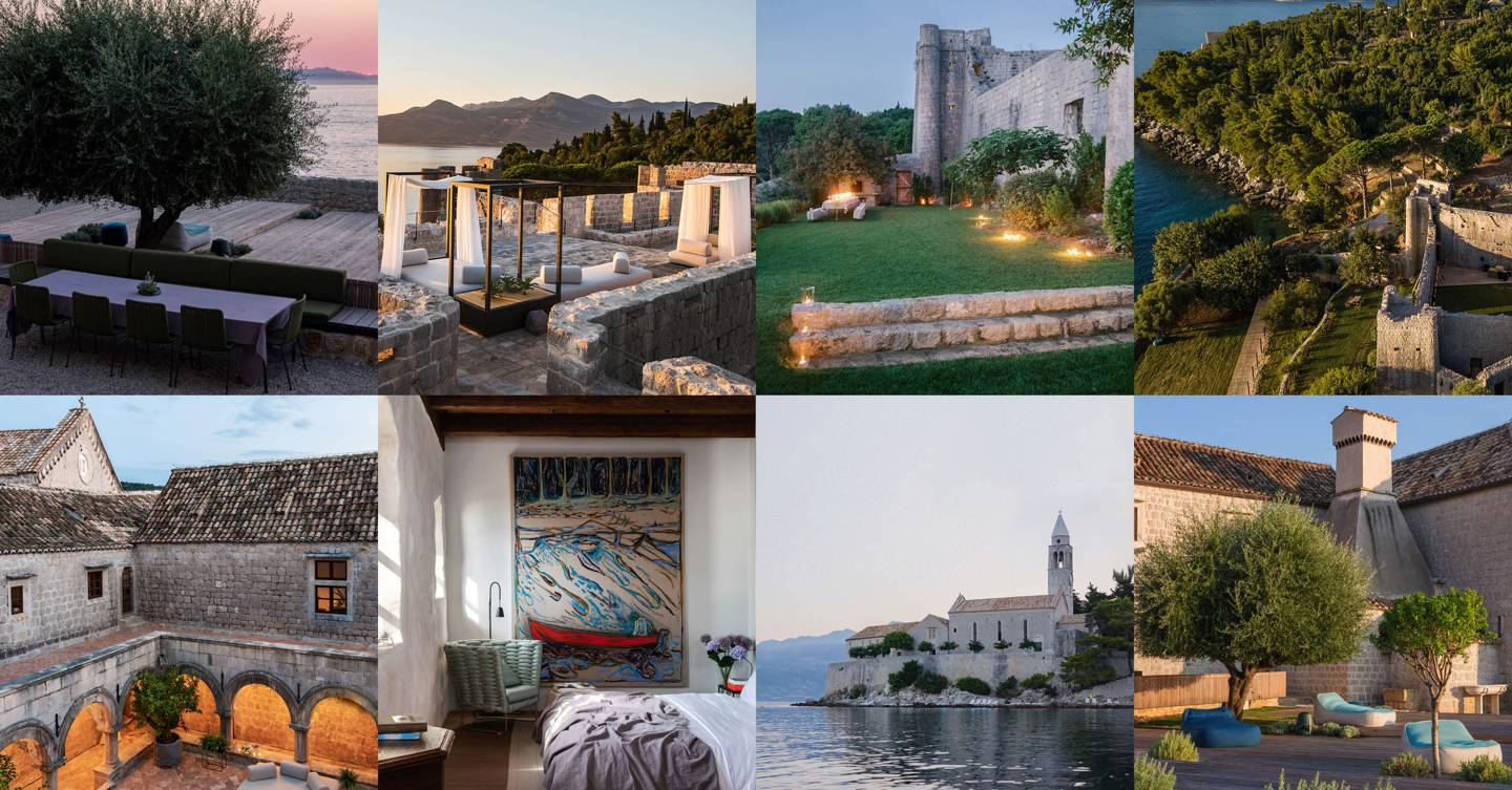 The Croatian monastery you can rent