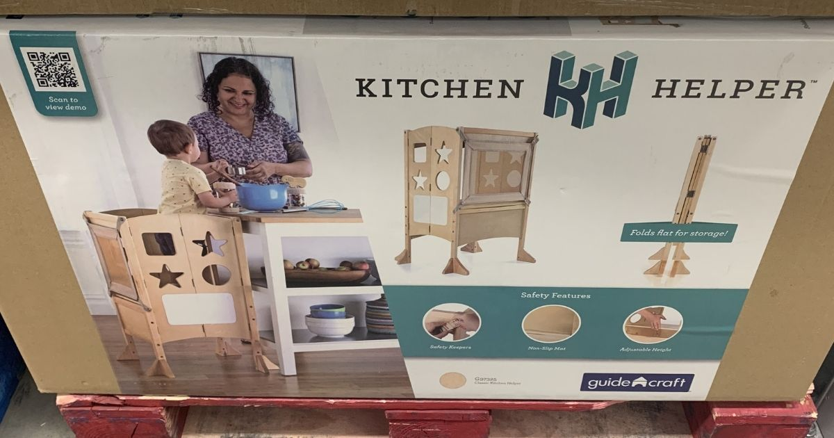 Guidecraft Kitchen Helper Only $49.81 at Sam's Club (Regularly $119.98)