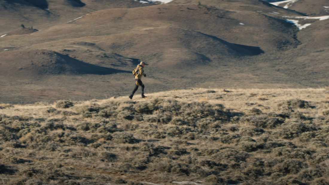 Biologist Runs 92 Miles Along Deer Migration Route to Honor Dad