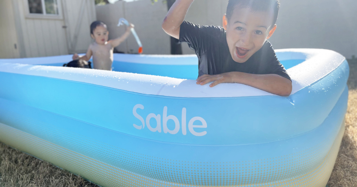 Family-Sized Inflatable Pool Just $45.99 Shipped on Amazon
