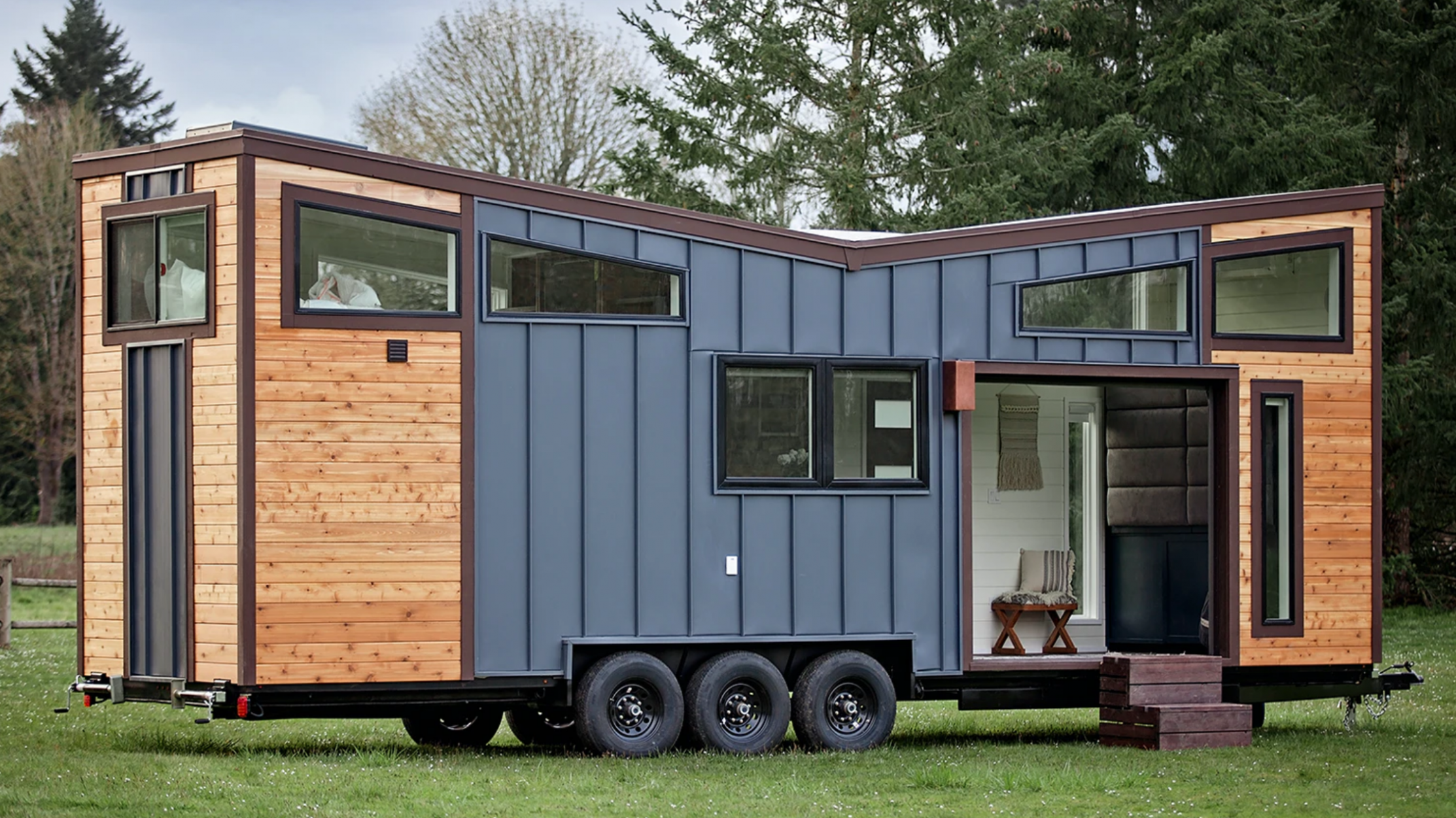 You Can Win a Custom Tiny Home While Supporting a Charity That Helps Girls Learn New Skills