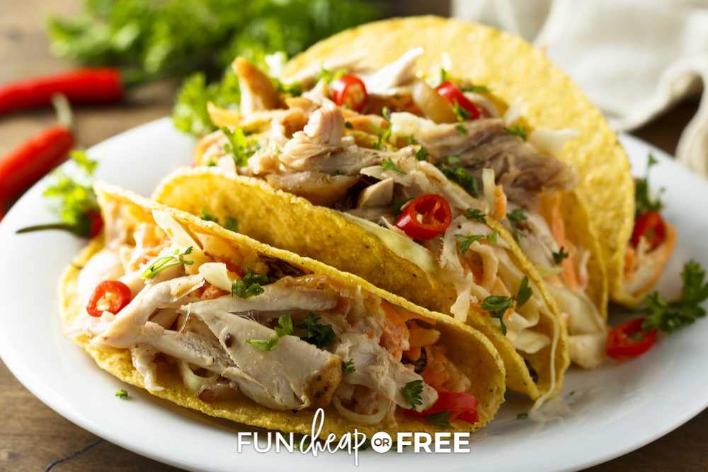 Chicken Taco Recipe + 9 Ways to Use the Leftovers!
