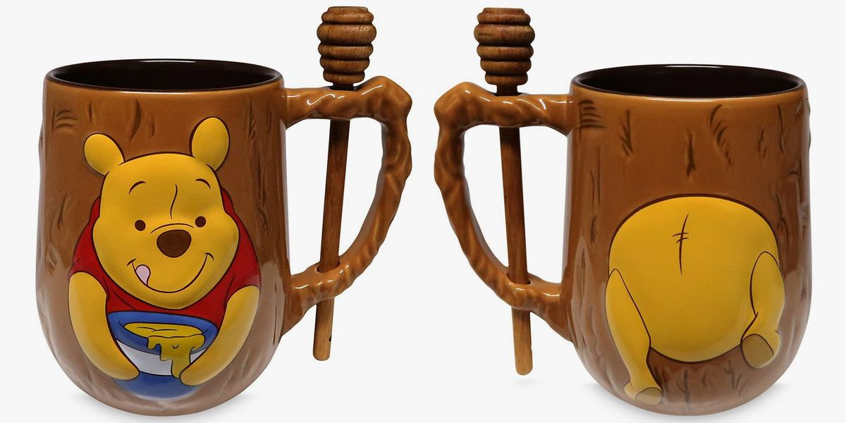 Disney Is Selling A Winnie the Pooh Mug Complete With An Adorable Honey Dipper