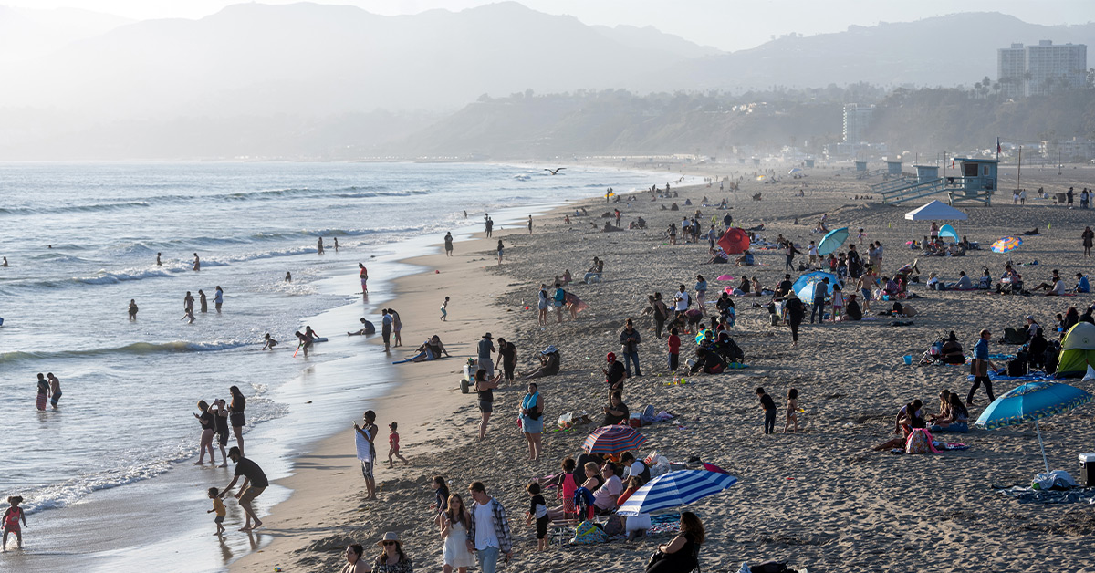California and Florida Took a Different Approach In Reopening