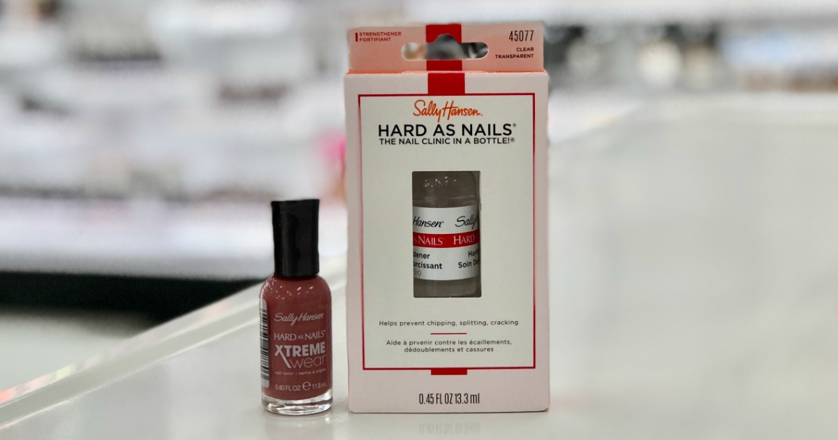 Sally Hansen Nail Care from 19¢ Each After Walgreens Rewards