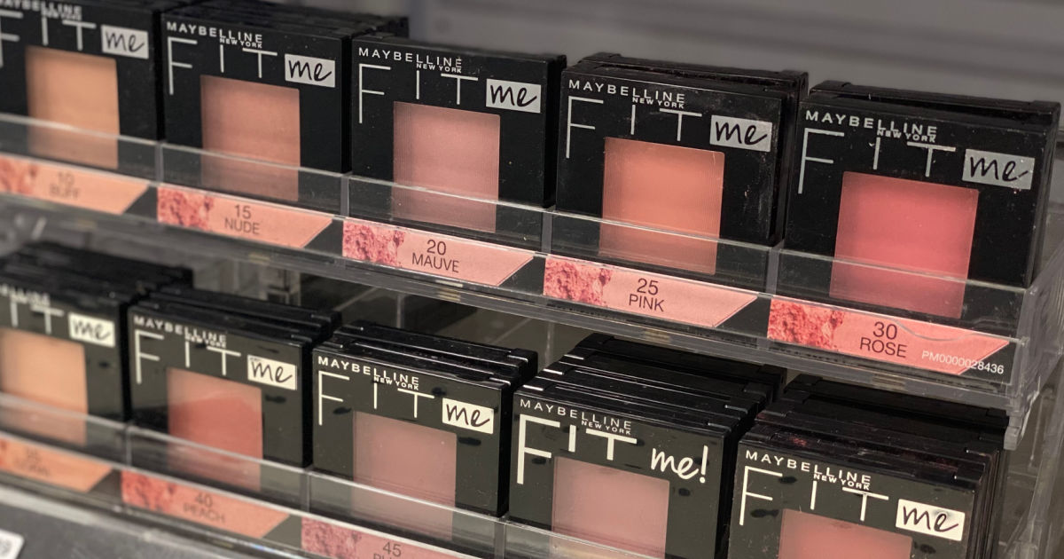 1 Maybelline New York Coupon = Cosmetics Only $1.24 Each After CVS Rewards