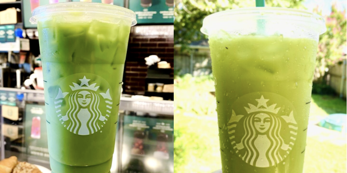 How To Order A Shamrock Tea From Starbucks