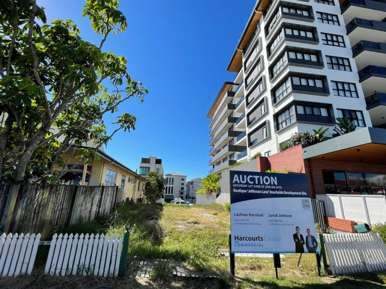 Barmy Palmy: Beachside prime site spikes $1 million in three months