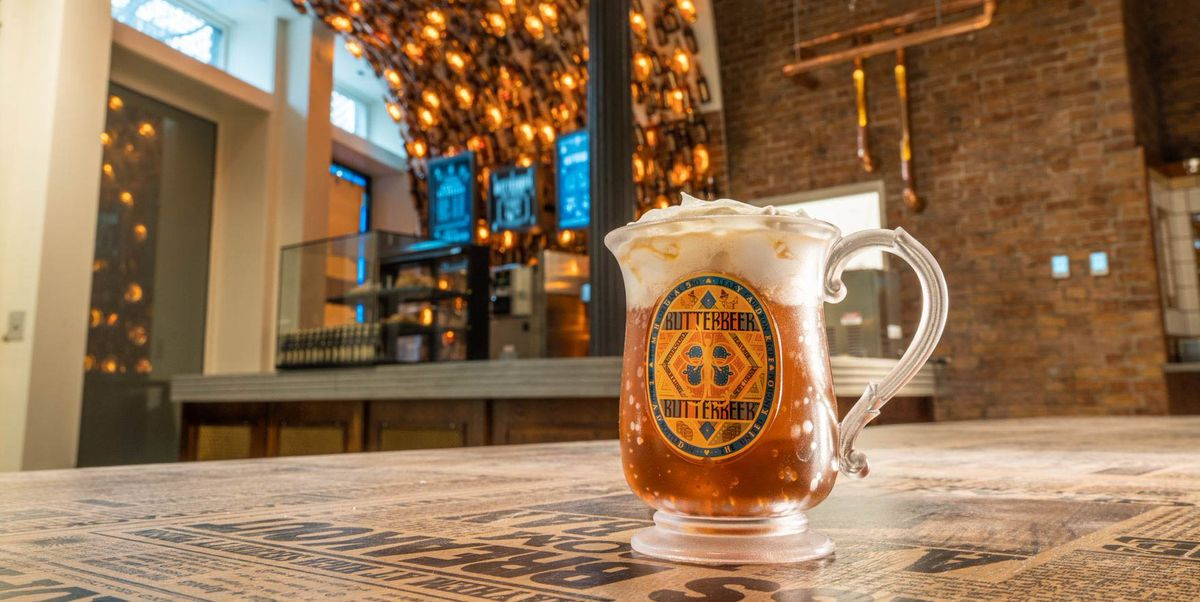 A Harry Potter Butterbeer Bar Is Opening Up For Potterheads
