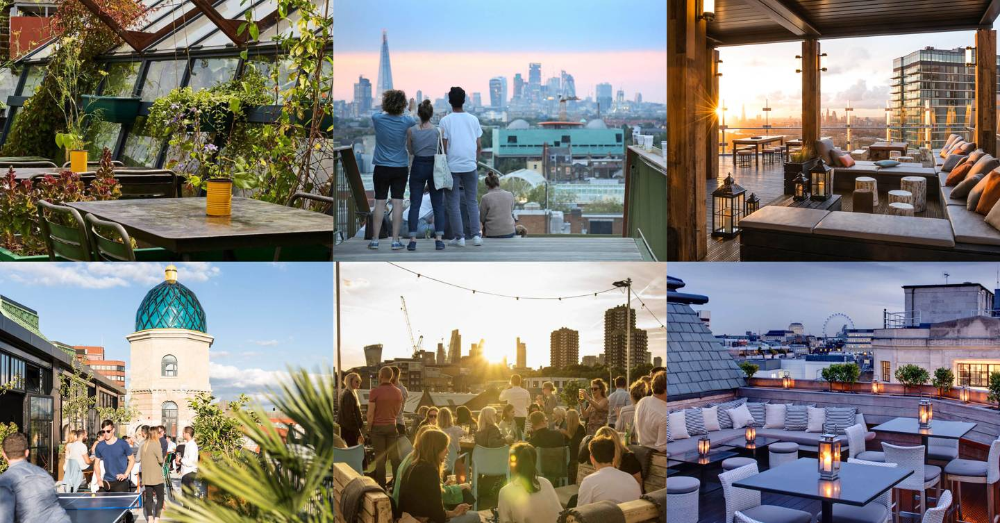 Rooftop bars in London: our 21 favourite terraces in the capital