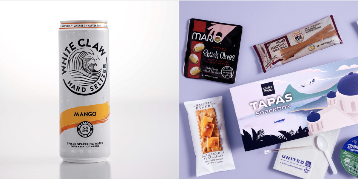 United Is Going To Start Offering White Claw On Flights