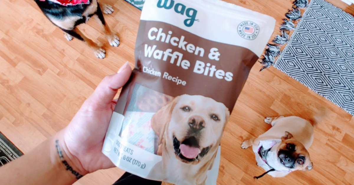 Wag Chicken & Waffle Dog Treats Just $3 Shipped on Amazon + 40% Off More for Pets