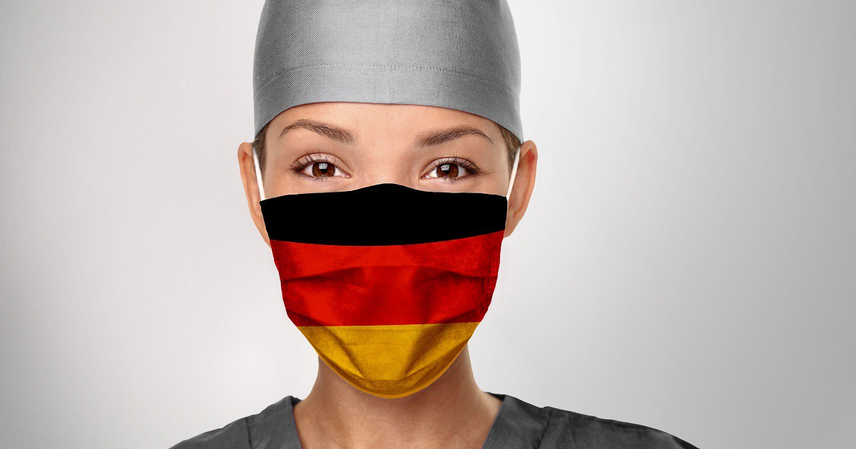 Germany has spent far more than £48m on test and trace