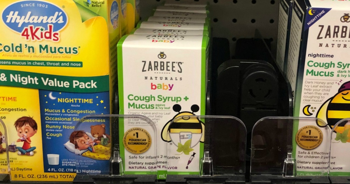 Zarbee's Naturals Baby Cough Syrup Only $3.31 on Walmart.com