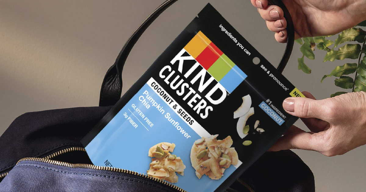 KIND Clusters Bags 8-Count Only $13.78 Shipped on Amazon