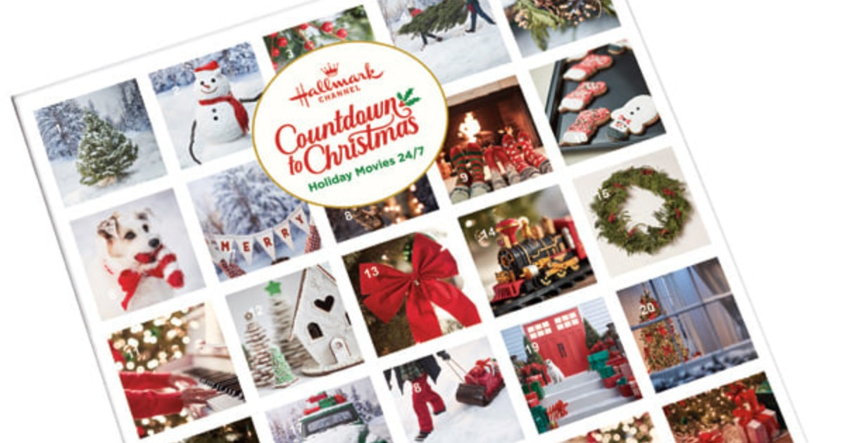 Hallmark Channel's Countdown To Christmas Advent Calendar Available to Pre-Order Now