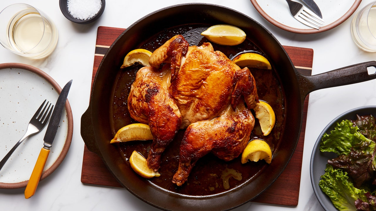 How to Roast a Chicken in 18 Minutes