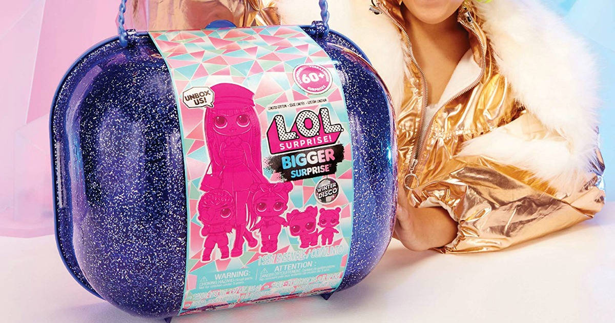 L.O.L. Surprise! Winter Disco Bigger Surprise Just $39.99 Shipped on Amazon (Regularly $90)