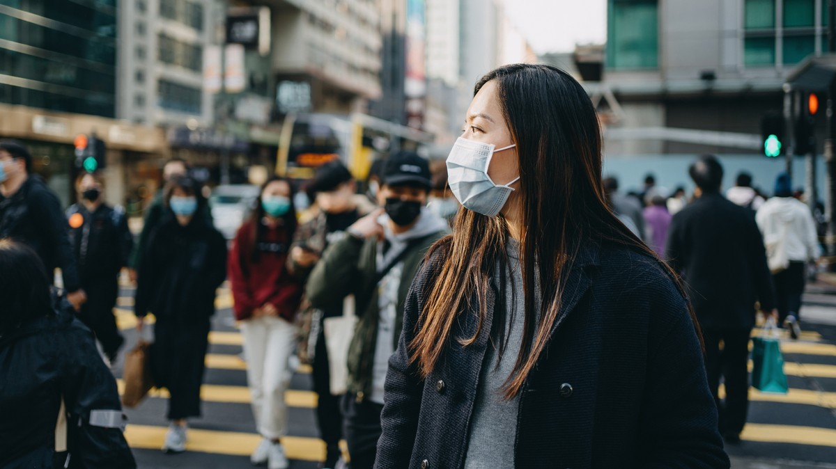 People Aren't 'Addicted' to Wearing Masks, They're Traumatized
