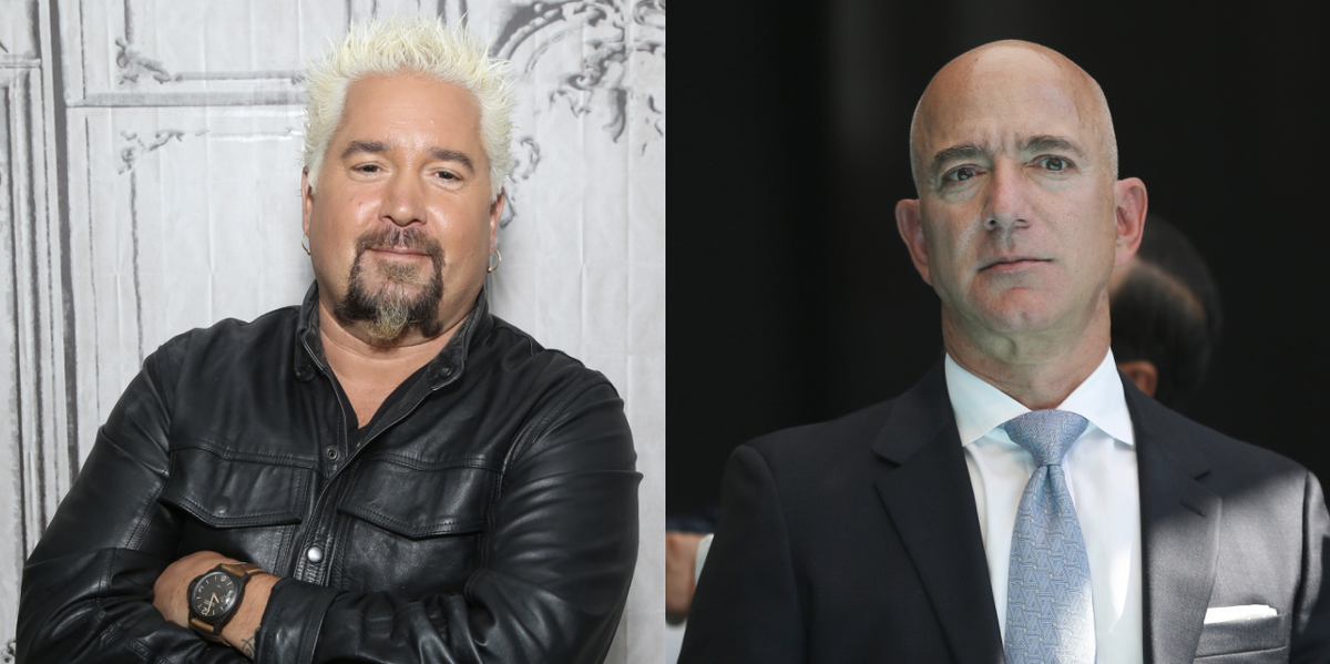 Guy Fieri Called Out Jeff Bezos For Not Donating To His Restaurant Relief Fund