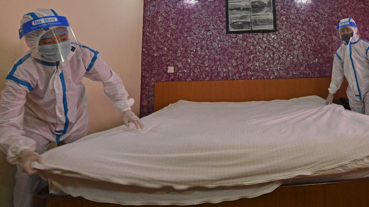Chinese Hotels Let Guests Track If Bedsheets Have Been Changed