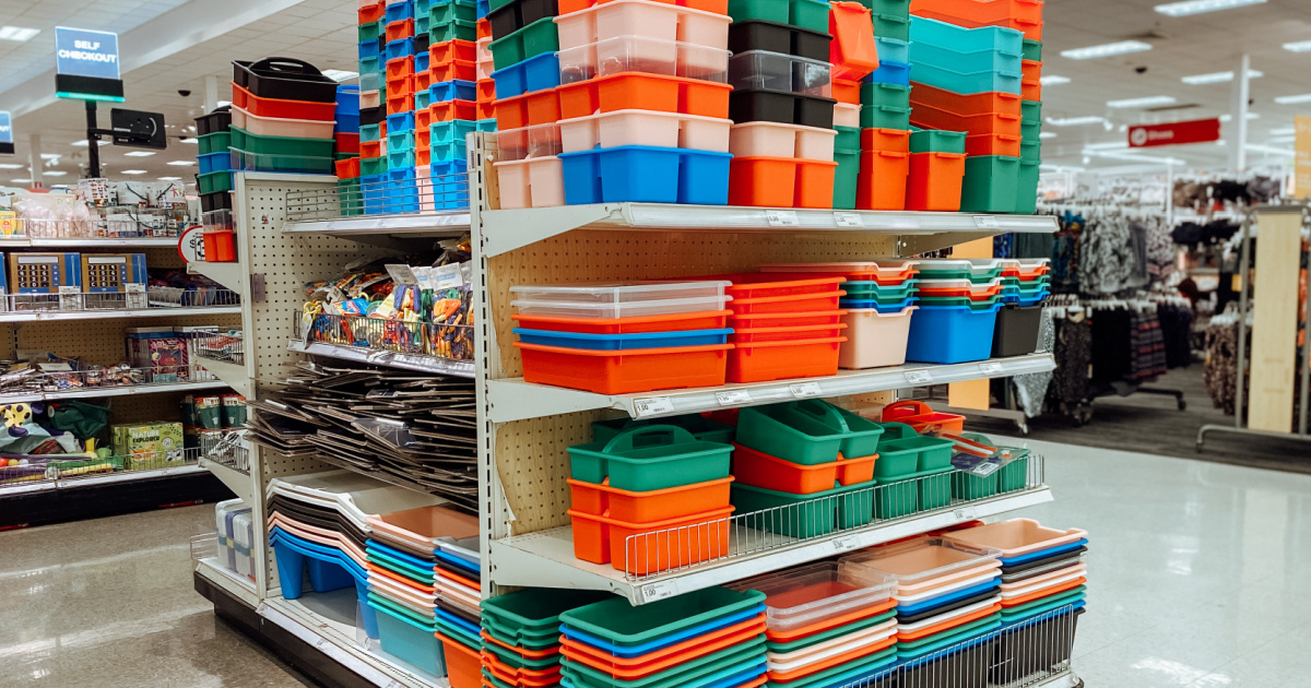 Classroom Storage & Supplies from $1 in Target's Bullseye's Playground