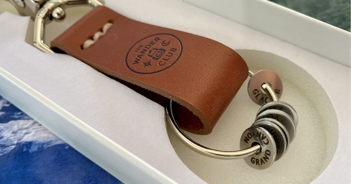 This Unique Keychain & Custom Travel Tokens are Handmade in the USA!