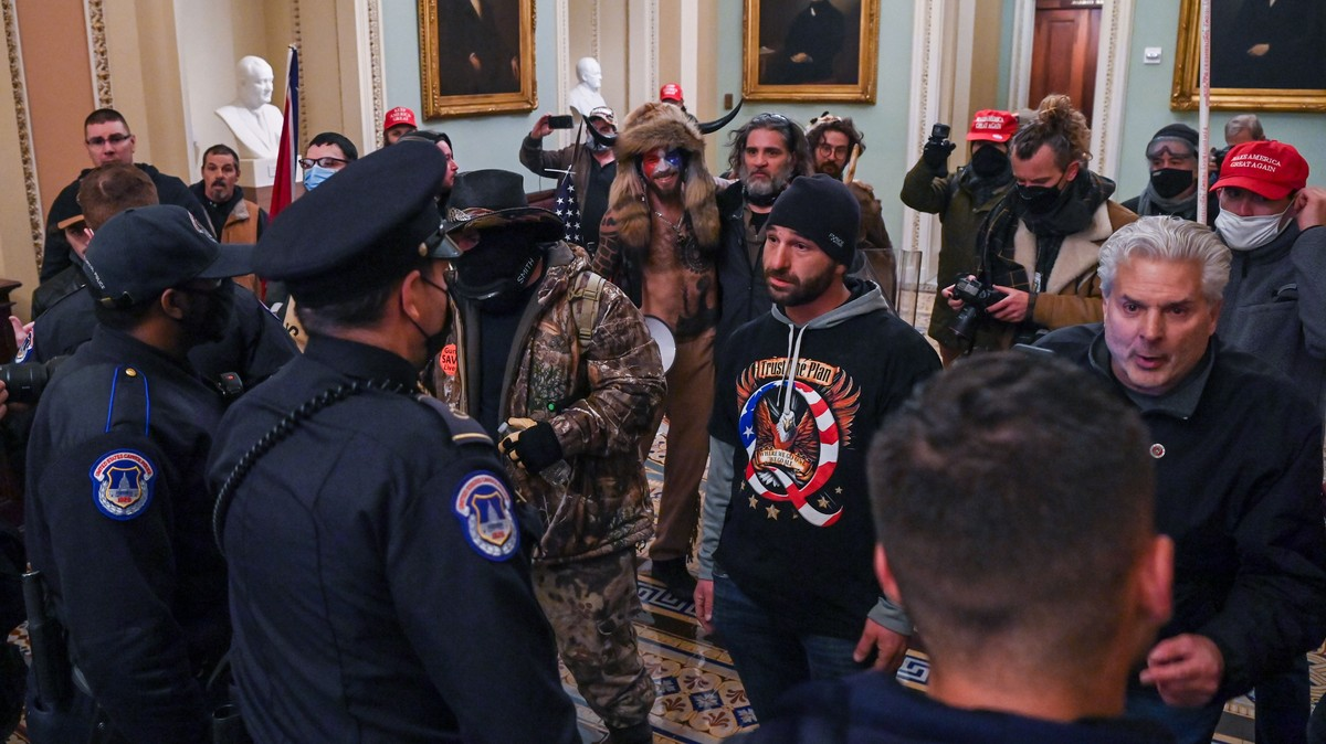 The QAnon Supporter Who Led the Capitol Riots Now Thinks the Conspiracy Is 'Silly'