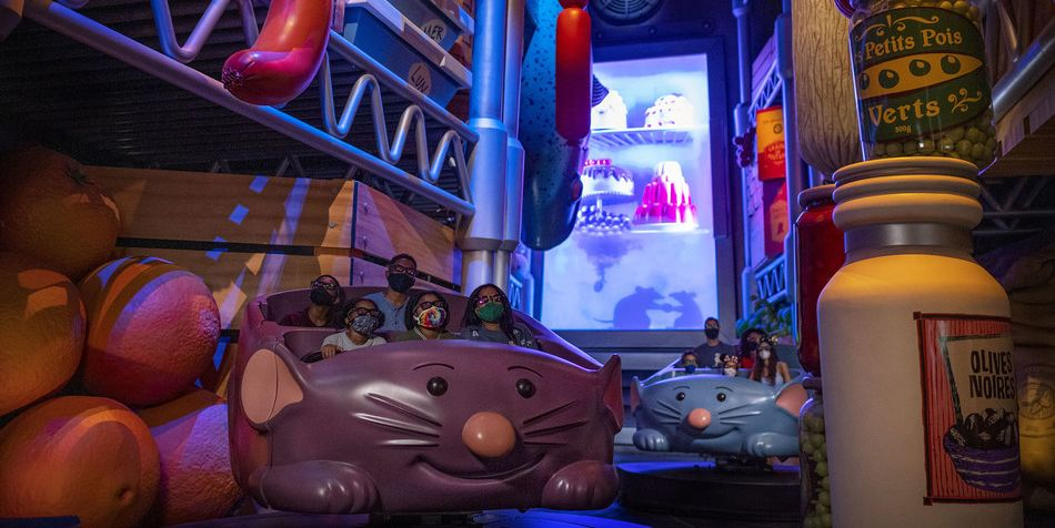 The 'Ratatouille Ride Is Coming To Disney World This Fall
