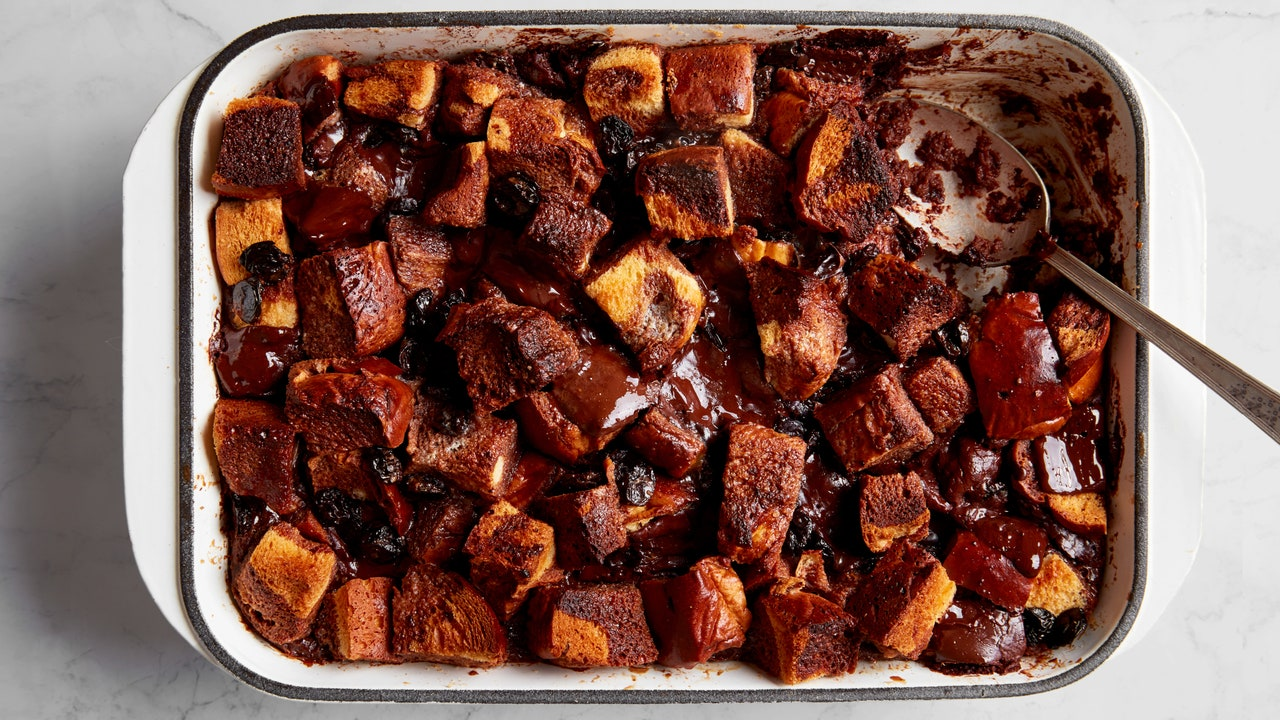 Nik Sharma's Formula for a Better Chocolate Bread Pudding