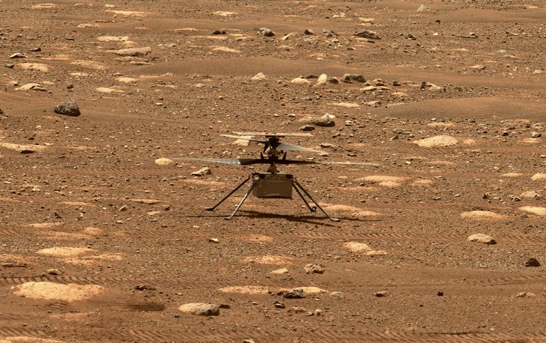 First Flight of NASA's Mars Helicopter Ingenuity Is Delayed