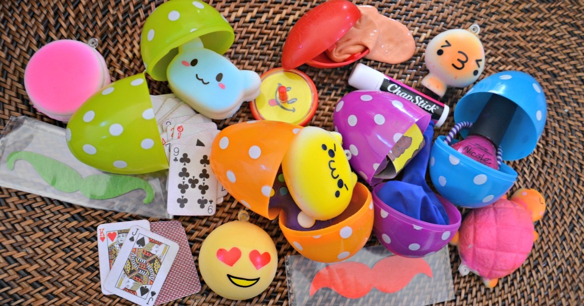 45 Easter Egg Filler Ideas that are Not Candy