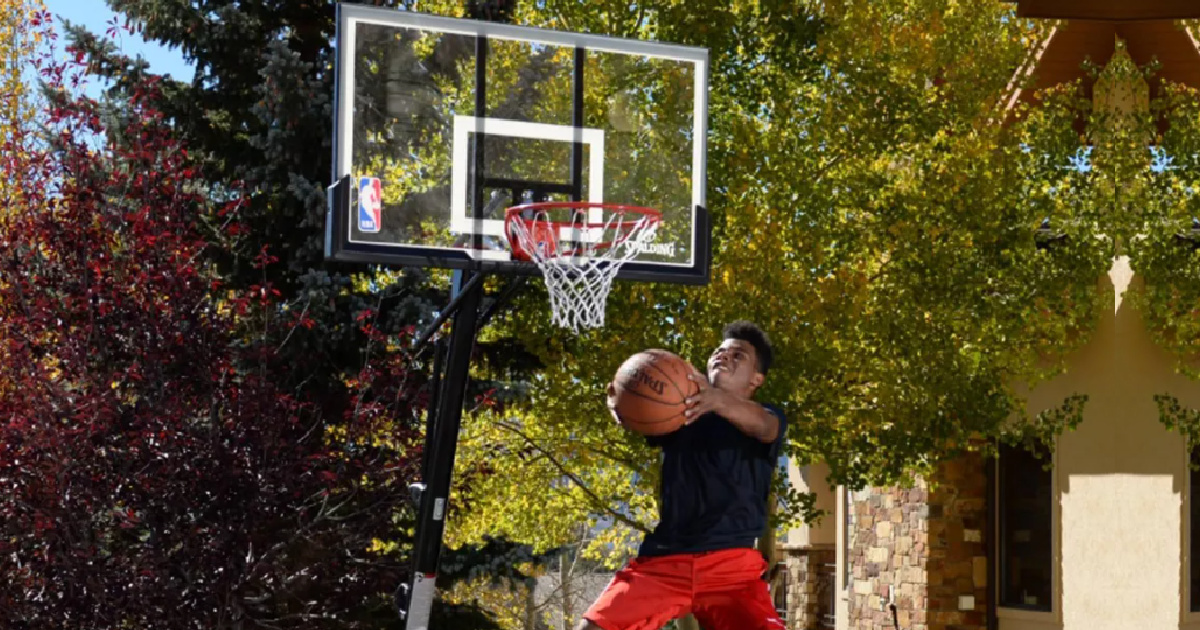 Spalding 44″ Portable NBA Basketball Hoop Only $104.99 Shipped on Target.com (Regularly $190)