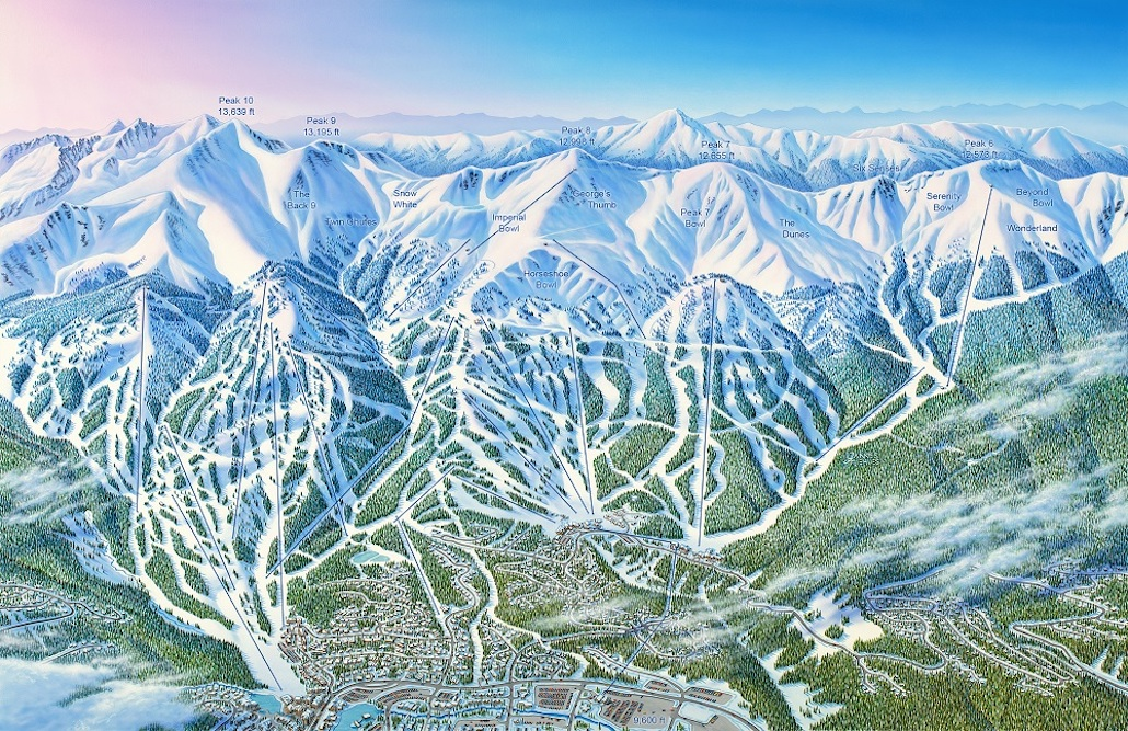 Ski Map Artist Jim Niehues Is The Picasso of the Piste