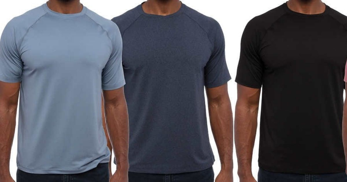 Men's Performance Tees 2-Packs Only $7.99 Each Shipped on Costco.com