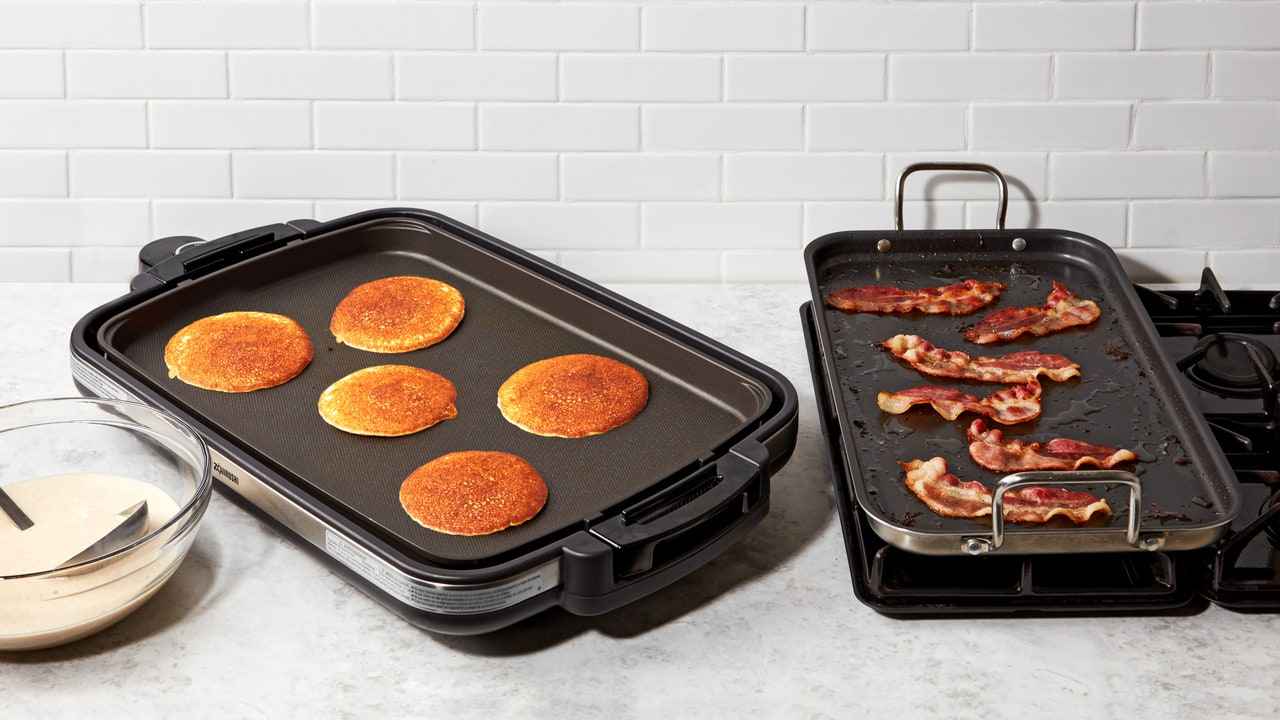 The Best Griddles for Cooking Pancakes, Eggs, and Bacon (At the Same Time)