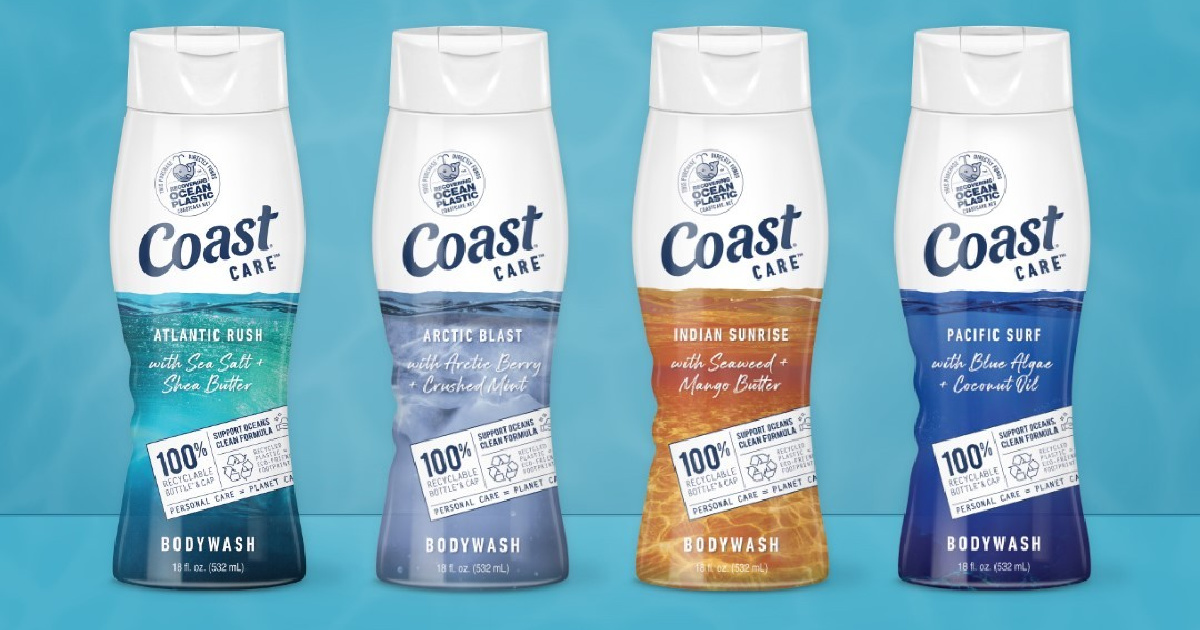 FIVE Coast Body Washes Just $9.95 After Cash Back at Target (Only $1.99 Each)