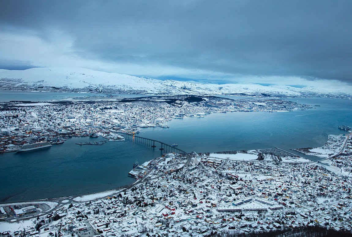 Above Tromso, Norway by Kevin Colton