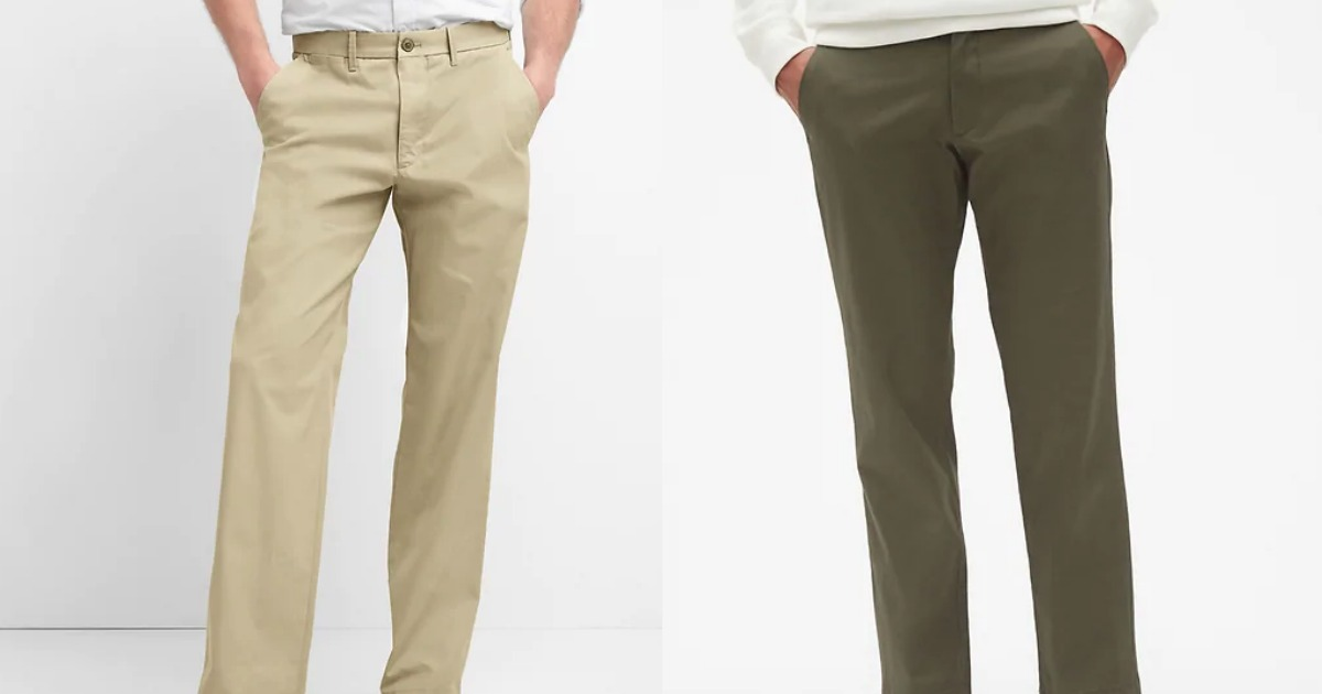 Gap Men's Vintage Khakis from $18 (Regularly $60)