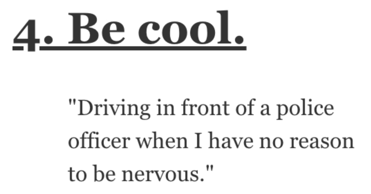 What Makes You Nervous No Matter How Many Times You Do It? Here's What People Said.