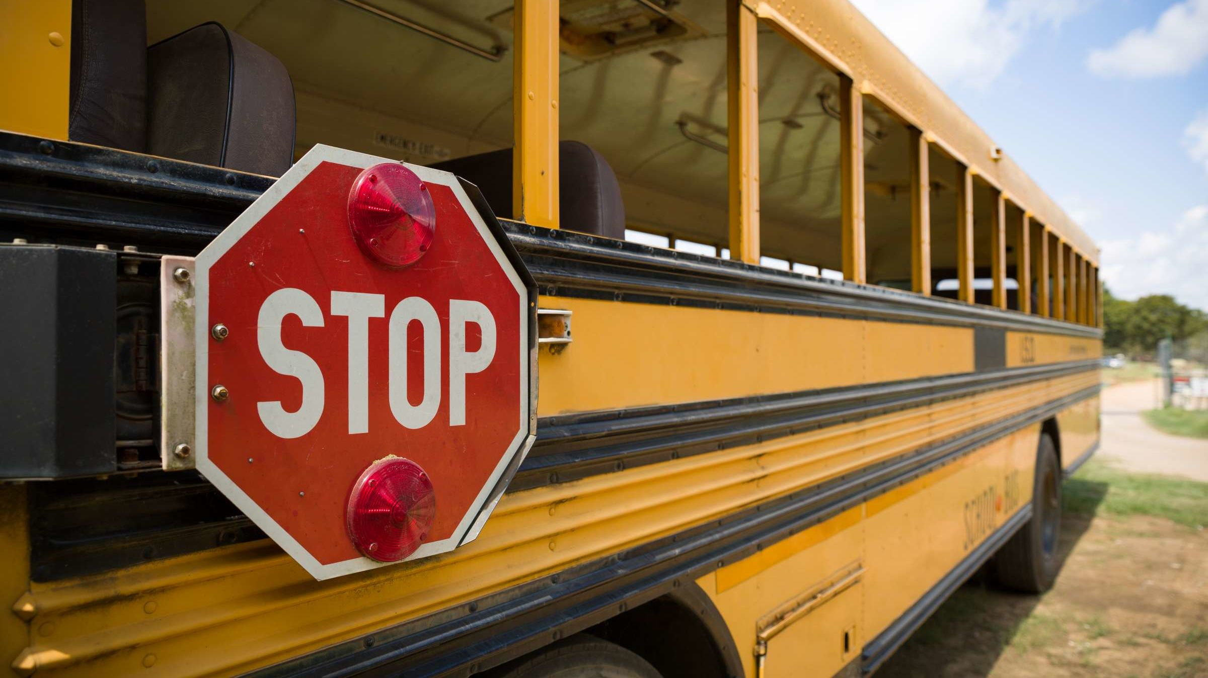 The Clever Reason Behind Those Black Lines on the Sides of School Buses