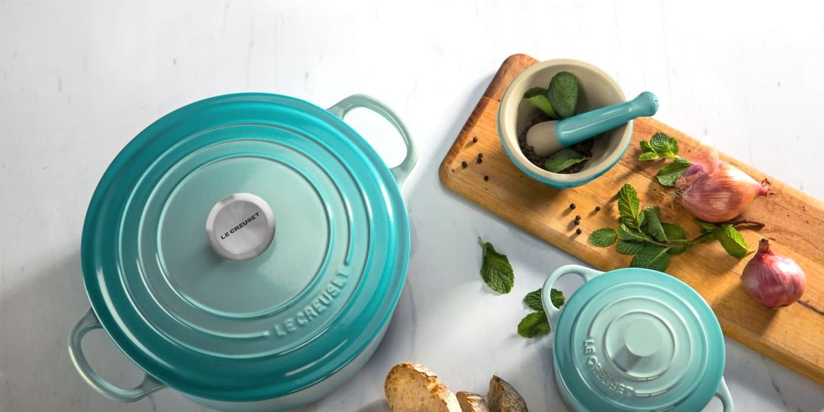Le Creuset's New Color For Spring Might Just Be Its Prettiest One Yet