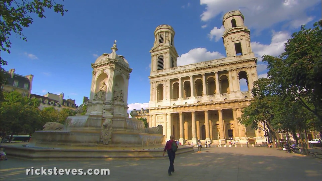 Paris' St. Sulpice Church and the Grand Pipe Organ