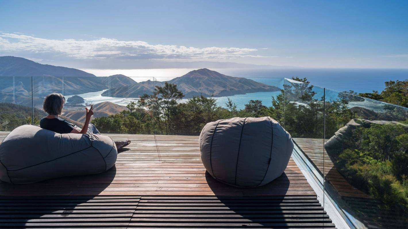 Yoga, mindfulness, bird song and a hot tub: Serenity meets luxury in Nelson mountains