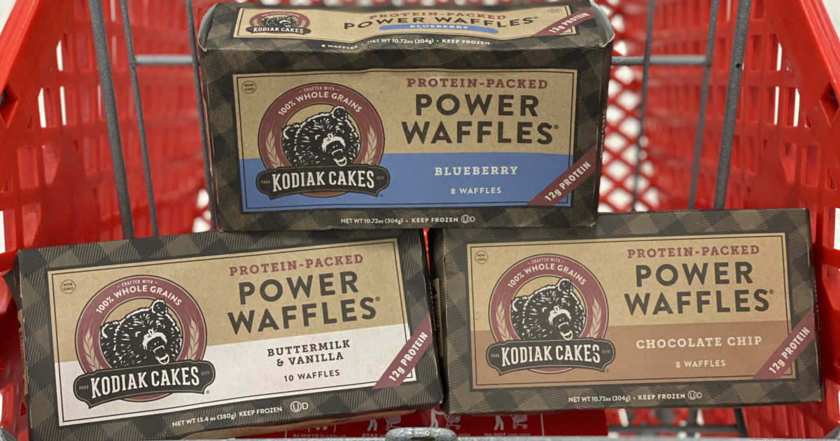 Up to 50% Off Kodiak Cakes Waffles & Oatmeal After Cash Back at Target